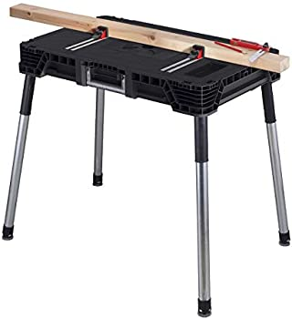 KETER Jobmade Portable Work Bench & Miter Saw Table