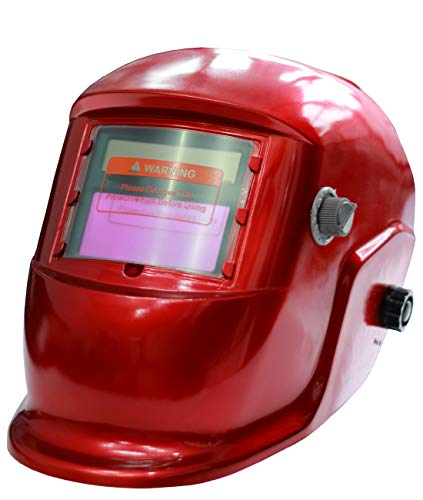 Full Face Welding Mask Auto Darkening Welding Helmet Head Protection For Tig Mig Arc Weld Grinding Blue