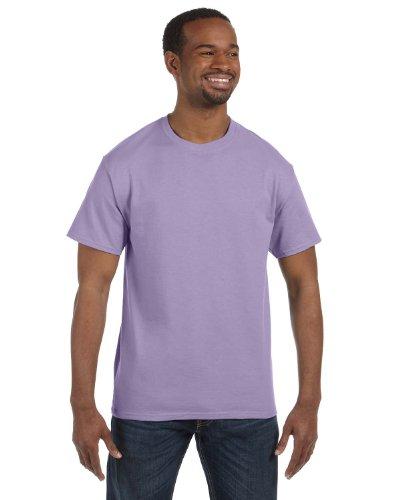 Hanes Mens Tagless 100% Cotton T-Shirt, XL, Lavender