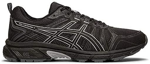 ASICS Men's Gel-Venture 7 Running Shoes, 13M, Black/Sheet Rock