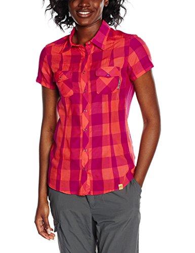 Ortovox Damen Kurzarm Hemd Stretch Back, Hot Coral, S, 8650100007