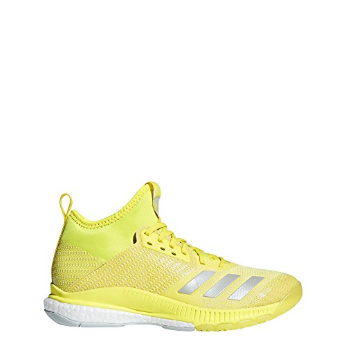 adidas Crazyflight X 2 Mid, Scarpe da Pallavolo Donna, Bianco Ftwwht/Silvmt/Gretwo, 36 2/3 EU