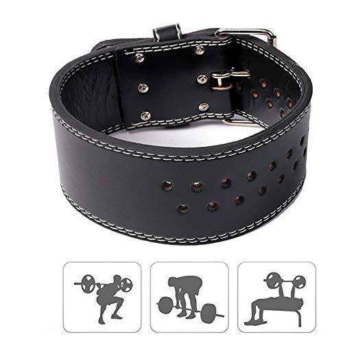 Zongha Cinturon Lastre Ejercicio En Casa Cinturón de Gimnasio para Hombre Levantamiento de Pesas Cinturón de Ejercicio para Gimnasio Cinturón para Gimnasio Black,Large