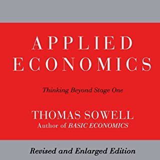 Applied Economics audiobook cover art