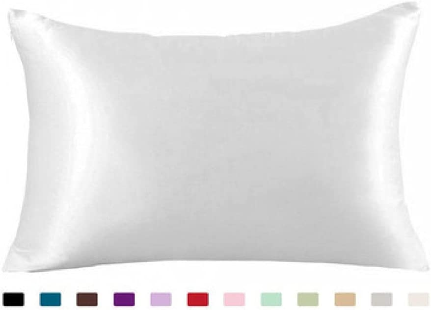 Pure Mulberry Silk Pillowcase for Solid Super beauty product restock quality top Color Direct sale of manufacturer Sy HairComfortable
