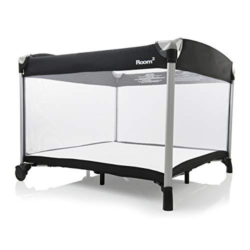 Joovy Room²-Playard, Portable-Playard, Playpen, Black