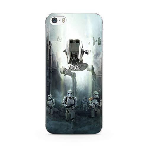 Original & Offiziell Lizenziertes Star Wars Handyhülle für iPhone 5, iPhone 5s, iPhone SE, Hülle, Hülle, Cover aus Kunststoff TPU-Silikon, schützt vor Stößen & Kratzern