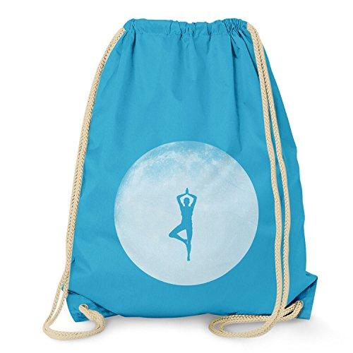 Texlab Full Moon Yoga - Turnbeutel, surf