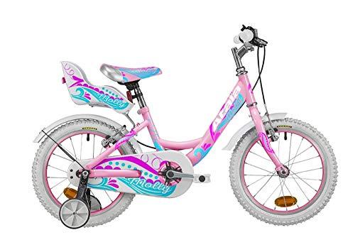 Atala Bicicletta da Bambino Molly 16', 1 velocità, Colore Rosa