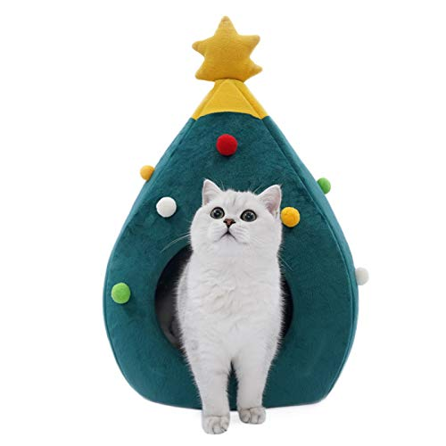 Navidad gato arena cuatro estaciones general mascotas suministros gato gato cama villa perrera fieltro basura gato suministros