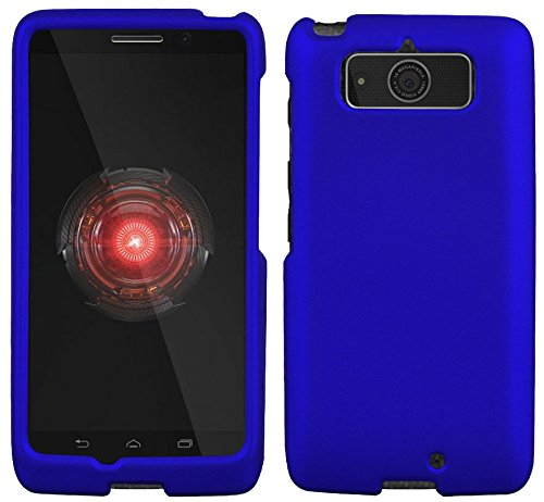 Blue Rubberized Hard Shell CASE PROTEX Cover for Motorola Droid Mini XT1030