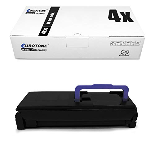 4X Eurotone Toner für Kyocera Ecosys P 6030 wie 1T02HN0EU0 Black TK 560 K Schwarz