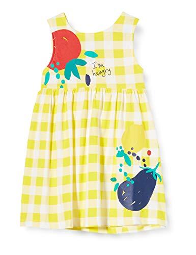 Tuc Tuc H. Life Vestido, Amarillo (Amarillo 14), 68/74 (Tamaño del Fabricante: 9M) para Bebés