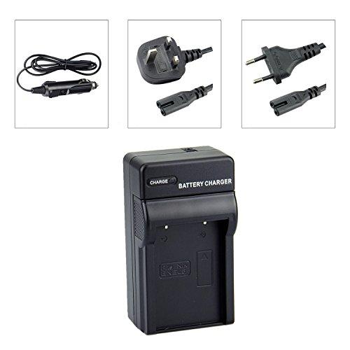 DSTE EN-EL5 Baterías Cargadores Compatible con Nikon Coolpix P510 P520 P530 P5000 P5100 P6000 S10 3700 4200 5200 5900 7900 P3 P4 P80 P90 P100 P500 Camera as MH-61