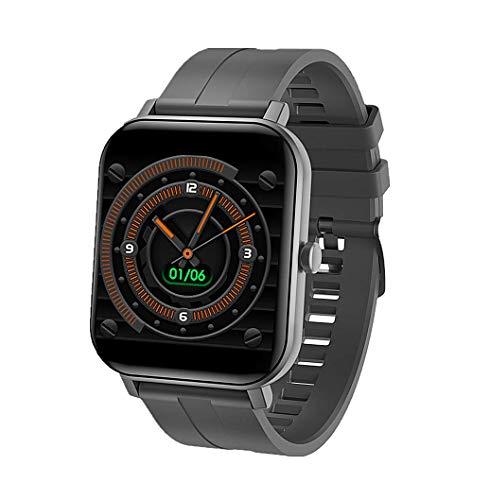 F-FISH Braccialetto di attività, Smart Watch con cardiofrequenzimetro e Pressione sanguigna Orologi Sportivi Impermeabile IP67 Cardiofrequenzimetro Braccialetto di attività Pedometro Fitness (Grigio)