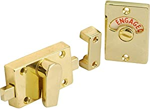 8 x Indicator Privacy Deurbout Kits (Engaged/Vacant) Messing 60mm