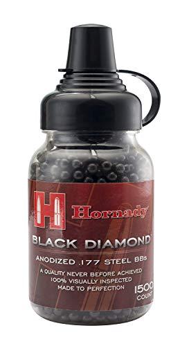 Umarex 2211056 Hornady Black Diamond .177 Caliber Steel BB Gun BBs (1500 Count)