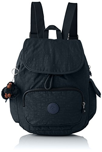 Kipling City Pack S - Zaini Donna, Blu (True Navy), 27x33.5x19 cm