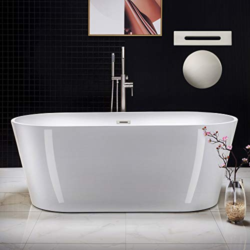 Best Value: Woodbridge Freestanding Soaking Bathtub