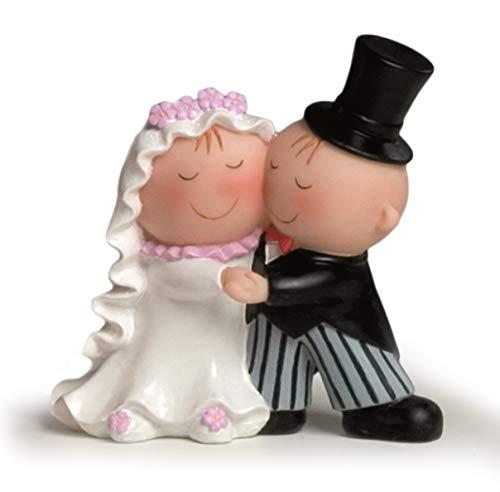 Mopec Y470 Tortenfigur Hochzeit, tanzendes Paar, 15cm