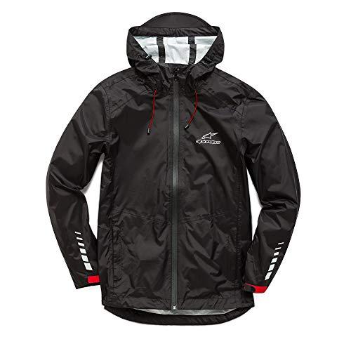 Alpinestars Herren Jacket resist rain, Black, M, 1018-11010