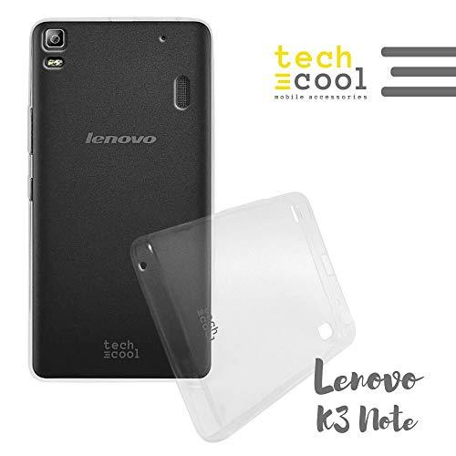 Funnytech® Funda Transparente para Lenovo K3 Note [Gel Silicona Flexible] [Ultra Slim 1,5mm]