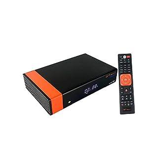 GT Media V8 Nova DVB-S2 Decodificador Satélite Receptor de TV Digital con WiFi Incorporado/SCART/1080P Full HD/FTASoporte CC CAM, PVR Ready, Newcam, Youtube, PowerVu Dre Biss Clave