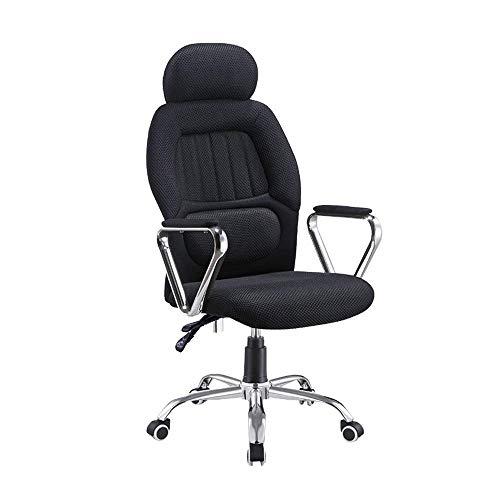 MHIBAX Gaming Chair Sedia direzionalegirevole con schienale alto, bracciolo ergonomico 3D con altezza regolabile, supporto lombare e testa imbottita per l'home office