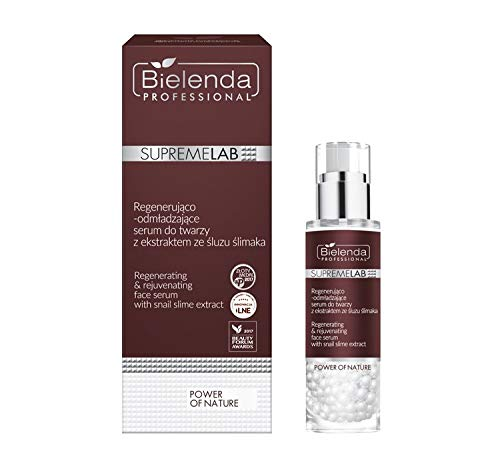 SUPREMELAB POWER OF NATURE regenerating and rejuvenating face serum with snail slime extract 30 g