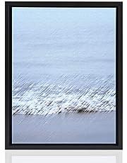 Stallmann Design Skuggfogsram 60 x 80 cm svart för kanvas bildram kilram för dukar av trä MDF
