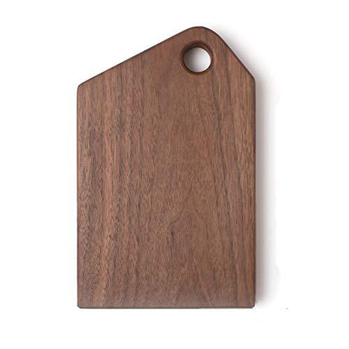 TXOZ-Q Tablero de rebanado de madera Tablero de la placa de la tabla de la placa de la placa de la cocina Tableros de corte para alimentos cocidos, pan, queso, verduras, frutas, galletas Sirviendo pla