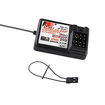 Flysky FS-GR3F FS GR3F 2.4G 3CH Receiver - Compatible with FS-GT2 / FS-GT2B / FS-GT3 / FS-GT3B / FS-GT3C / TH9X RC Car Boat Truck Transmitter