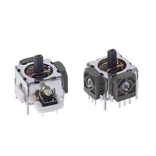 FXCO - 2 Piezas 3D analógicas Joystick Eje Sensor Módulo Joystick Eje de Repuesto para Xbox360 Ps2 Ps3 Contoller reparación
