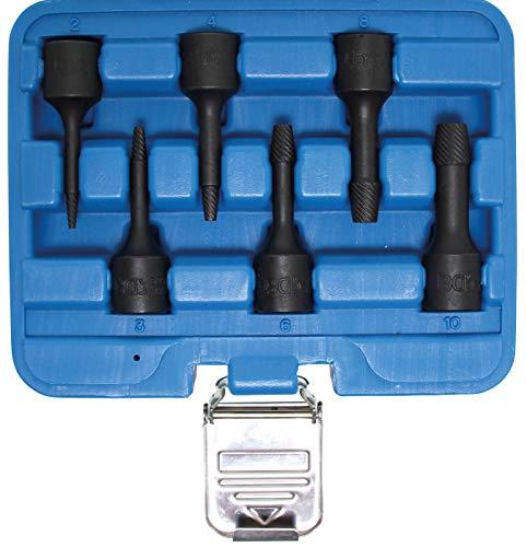 BGS 5281   Juego de llaves de vaso especiales / extractores de tornillos   entrada 10 mm (3/8