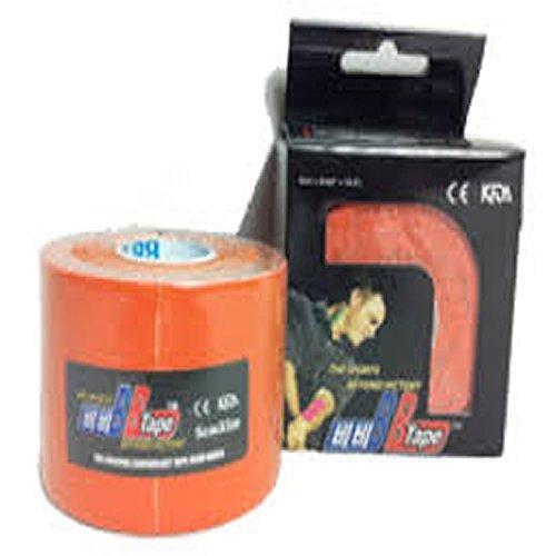 Venda Tape Neuromuscular 5 cm x 5 m Naranja-Unidad