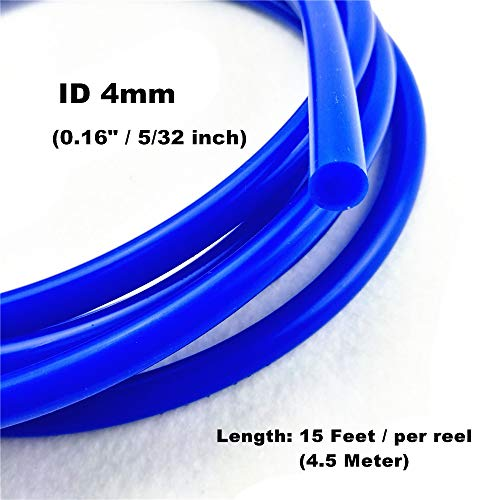 Inner Diameter High Performance Silicone Vacuum Hose Line LTI Universal 10 Feet Length Universal 5mm 5MM, RED 3//16 Inch