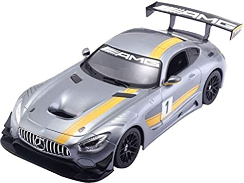Rastar RC Mercedes Benz AMG GT3 échelle 1 14 Argent 30 cm 30 cm