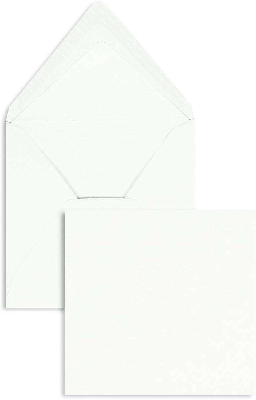Briefhüllen   Premium Premium Premium   164 x 164 mm Weiß (100 Stück) Nassklebung   Briefhüllen, KuGrüns, CouGrüns, Umschläge mit 2 Jahren Zufriedenheitsgarantie B00FPNZ12Y | Abrechnungspreis  62ccd6