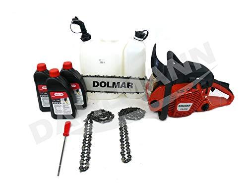 Dolmar PS-550-45 - Motosierra (4,1 CV, 3/8