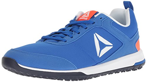 Reebok Men's CXT Cross Trainer, Vital Blue/Atomic red/White, 8 M US