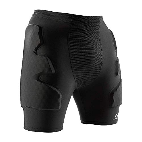 Mc David Pantaloncini Hex Guard, Modello Unisex, per Adulti, Unisex Adulto, Hex Guard, Nero, L