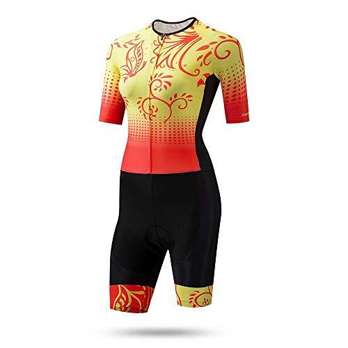 Yuefensu Conjunto De Jersey De Ciclismo Vestido De Punto Jersey De Patinaje...