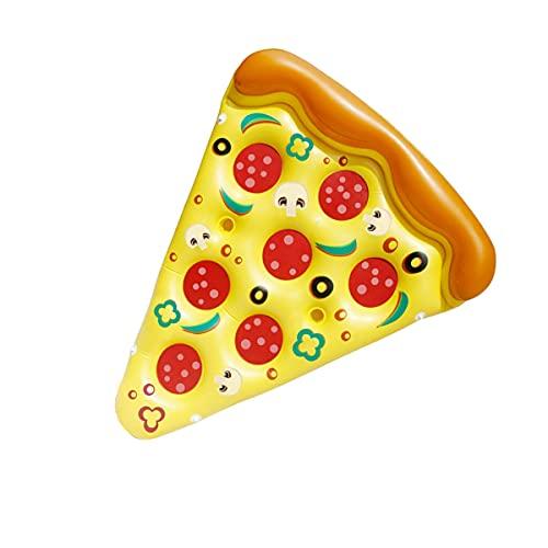 Flotador De Piscina Inflable, Fila Flotante De Pizza Inflable De Pvc Ecológico, Sillón Reclinable Inflable De Entretenimiento Acuático