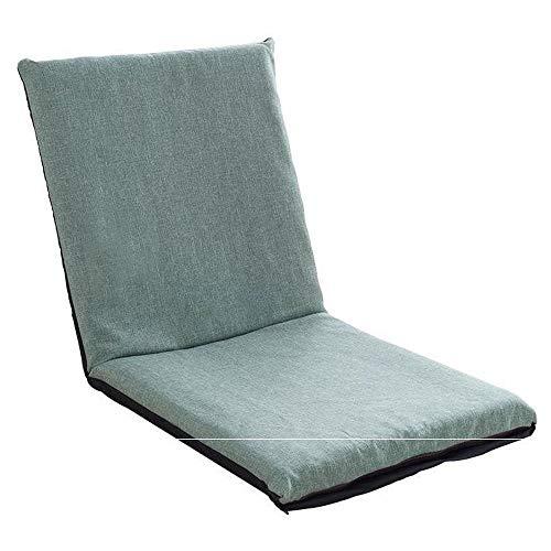 ZTKBG Outdoor Indoor verstelbare zachte wol polyester touw vijf posities multi-hoek vloerstoel 17.5