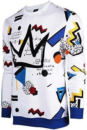 SCREENSHOTBRAND F11963 Mens Urban Hip Hop Premium Fleece Pullover Activewear Street Fashion product image