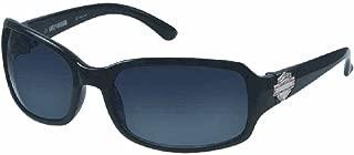 Harley-Davidson Women Sun Lifestyle Sunglass Stone B&S Plaque Black HDS5007BLK-3