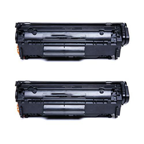 Compatible para el reemplazo del Cartucho de tóner HP 12A para HP Laserjet 1010 1015 1020 1022 MFP1018 HM1005 3015 3020 3030 3050 3052 Impresora, Multifunción de la 2pcs