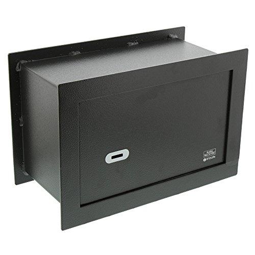 BURG-WÄCHTER Caja fuerte de pared con bloqueo de doble barra, PointSafe PW 3 S, negro
