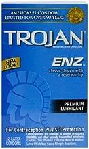 Trojan ENZ Lubricated 12 Condoms