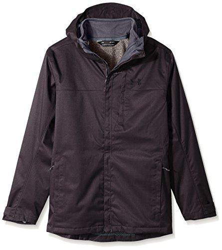 Under Armour Outerwear Under Armour Men's Porter 3-In-1, Truffle Gray/Black, Medium
